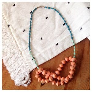 Anthropologie Teng Yue Layered Beaded Necklace